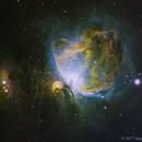 M42 Narrowband Hubble Palette,                                SmackAstro