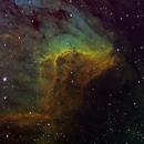 IC5070 in HST palette,                                Gordon Haynes
