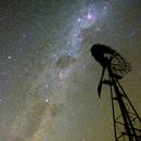 Windmill and Milky Way,                                bunyon