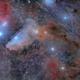 IC4592 Blue Horsehead Nebula 2 panel mosaic,                                Mladen_Dugec