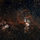 Statue of Liberty - NGC3576 & NGC3603,                                KiwiAstro