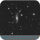 ARP 89 (NGC2648 & MCG+2-22-6)  Spiral with large HSB companion on arm in Cancer,                                elbee