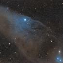 Blue Horsehead aka IC 4592,                                  Mustafa Aydın