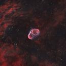 NGC 6888 Crescent Nebula 20200808 14400s HOO 02.8.4,                                Allan Alaoui
