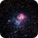 Messier M20 - NGC 6514 - Gum 76 - Trifid Nebula in Sagittarius ,                                Geoff Scott