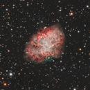 Neutron Star CM Tauri in the Crab Nebula,                                Nico Augustin