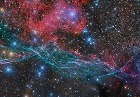 Vela Supernova Remnant East Part,                                Stanislav Volskiy