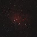 IC 405 Flaming Star Nebula,                                xs4allan