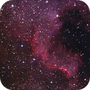 NGC 7000 - The Great Wall in the North America Nebula,                                  André