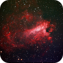 Omega Nebula, M17,                                James Schellenberg