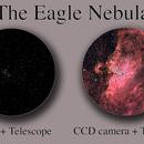 M16, The Eagle Nebula Eye Vs CCD,                                David Nguyen