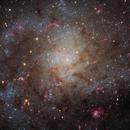 M33, core (HaRGB),                                Ruben Barbosa