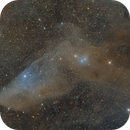 IC4592, the Blue Horsehead nebula,                                Jari Saukkonen