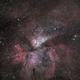 The Carina Nebula and NGC 3293,                                ChrisG_BNE