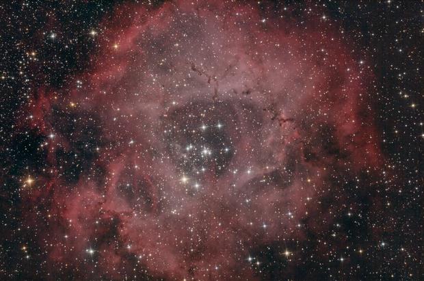 The Rossete Nebula (Caldvel 49) in Monoceros,                                Vaclav Uhlir