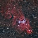Cone Nebula,                                Elmiko