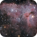 Carina Nebula Up Close,                                CarlosAraya