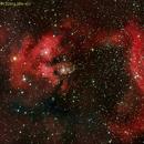 NGC7822 e CED214 (SH2-171) in Cepheus,                                Fernando De Ronzo