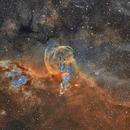NGC3576 Statue of Liberty,                                David Nguyen