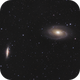 M81 and M82, March 21, 2020,                                Adam Drake