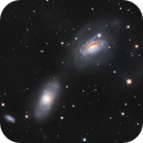 NGC3169 and NGC3166 - Stellar Siphon,                                Jason Guenzel
