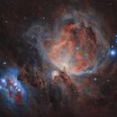 Great Orion Nebula,                                Valerio Avitabile