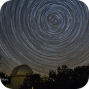 Star trails with the one meter at the OHP,                                Yves-Andre Fasel et Marc Dumas
