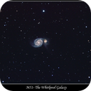 M51 The Whirlpool Galaxy,                                Stephen Jennette