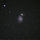 Messier 51 First Light,                                Hamster1776