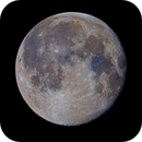 The Moon in color, day 16.3,                                Mark L Mitchell