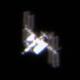 ISS over Santo Domingo,                                Christofer Báez