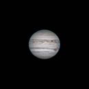 Europa Transiting Jupiter with Big Red Spot Visible,                                Kevin Thurman