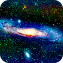 m31 galassia di andromeda                                                           distanza 2 milioni 500 mila  A.L.,                                Carlo Colombo