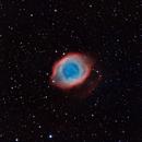 NEBULOSA HELIX NGC 7293 O EL OJO DE DIOS,                                José Santivañez Mueras