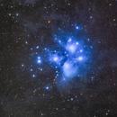 M45 Pleiades,                                astrodabo