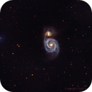 M51 Whirlpool Galaxy,                                Harrington Beach Imagers Group