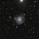 NGC7424 Intgermediate Barred Spiral Galaxy in Grus,                                TWFowler