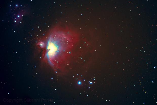 Der Grosser Orionnebel -NGC 1976,                                Silkanni Forrer