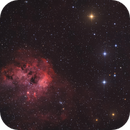 IC 405 + IC 410 in RGB,                                Marcel Drechsler