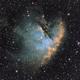 ZWO OAG Tests with the Pac Man (crop) in HO variants (NGC 281; Sh2-184; IC 10),                                Uwe Deutermann