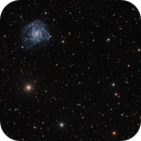 NGC 7424 - Spiral Galaxy in Grus,                                Rodney Watters