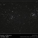 Double Cluster in Perseus,                                José Miranda