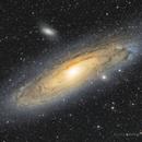 M31 The Andromeda Galaxy - M32 - M110,                                Luca Balestrieri Cosimelli