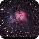 Messier 20 or M20 or Trifid Nebula,                                Stephen Harris