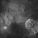JellyFish Nebula in Ha,                                puckja