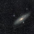 M31 and perseid meteor,                                Pietro Canepa