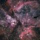 Eta Carina Nebula - ED80,                                Kevin Parker