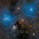 NGC 6726, NGC 6727, NGC 6729, IC 4812 & YSOs,                                Alex Woronow