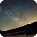 The Milky Way Over Balch Pond, ME,                                Nick Hobbs