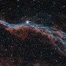 Western Veil Nebula in HOO,                                Alex Roberts